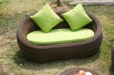 옥외 4PCS 정원 Rattan Sofa