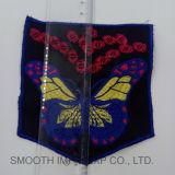 Commerce de gros de papillons colorés Handwork coton Broderies ethniques Patch accessoire du vêtement
