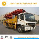 29mトラックによって取付けられる具体的なブームポンプトラック