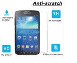이동 전화 부속품 2.5D Samsung S4 액티브한 I9295를 위한 일본 강화 유리 스크린 프로텍터 자동적인 흡수