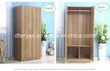 シンプルな設計の寝室ワードローブによって使用されるMDF材料