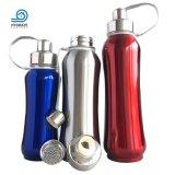 Desportos/viagens de isolamento por vácuo em aço inoxidável garrafa de água potável
