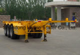 China Tri-Welle 40FT Skeleton Behälter-Chassis-halb Schlussteil