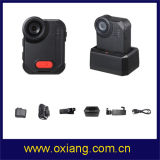 警察4G WiFi IP65 1080Pの警察身につけられるボディカメラのためのAmbarella A12のボディによって身に着けられているカメラ