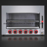 El equipo de cocina comercial Salamandra de la cocina de gas de acero inoxidable para la venta