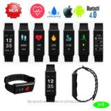 Bracelet intelligent de Bluetooth d'étalage sain avec la fréquence cardiaque (Z4)