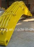 Peças sobressalentes da escavadeira de longo alcance padrão do braço e da lança de guindaste Construction Machinery Parte