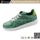 Il nuovo velluto di verde di stile mette in mostra i pattini Qr16050s della piattaforma alzati donne dei pattini