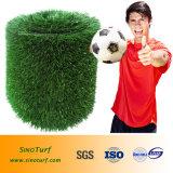 Erba di gioco del calcio, erba artificiale di calcio, erba di Futsal, tappeto erboso di gioco del calcio, tappeto erboso dello Synthetic di calcio
