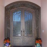 Горячие продажи передние двойные двери с Transom железа