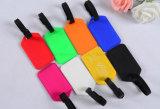 プラスチック荷物の札の簡単なハンドバッグ札の安い札の昇進のギフトの札によって曇らされる札