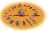 Цементированный карбид прессовал режущие инструменты профилей