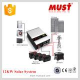 O inversor de energia solar de fase única grade 1KW 2 kw 3KW 4 kw 5 kw 6 kw 8 kw 10kw 12KW DC 12V 24V 48V for solar