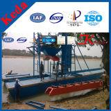 経済的なバケツの砂の吸引の浚渫船、効率的な働く60-200cbm浚渫船