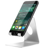 Support de stand de téléphone cellulaire, support de stand de dock de berceau de l'iPhone X de l'iPhone 8 de Smartphone d'alliage d'aluminium pour l'iPhone 8/8 Plus/7/7 plus, iPhone X