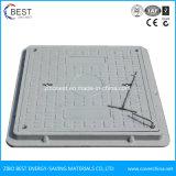 Zusammengesetzter quadratischer Einsteigeloch-Deckel des China-Hersteller-Harz-SMC