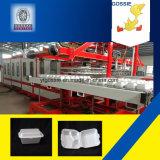 Wie man Schaumstoff-Nahrungsmitteltellersegment herstellt, die Herstellung der Maschinen-Teile zu schachteln