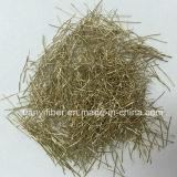 Micro fibra de aço revestida revestindo de Renforcement do fabricante do tipo da fibra