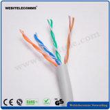 U/câble réseau UTP non blindé à paire torsadée Cat 5e câble d'installation