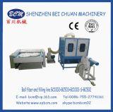 Máquina del llenador del ventilador de la fibra de la bola para las almohadillas