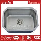 Bassin de cuisine, acier inoxydable sous le bassin de cuisine simple de cuvette de support