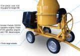 260L het Handboek die van de Dieselmotor van Volumn het Beton van 2 Wiel/de Mixer van het Cement beginnen