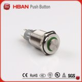 Ce UL ISO9001 Вандалозащищенная 16мм 2 нет2nc 3A/250 В защищенные/кнопочный выключатель центрального замка