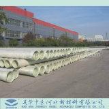 2018 Mejores Ventas GRP plástico reforzado con fibra de poliéster Compuesto de tubo de tratamiento de agua