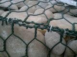 PVC上塗を施してあるGabionバスケット