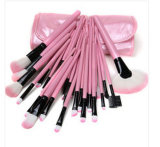 Professional 32piece Hot Pink Synthetic Hair Makeup Brush Factory Wholesale