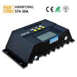 12V/24V het automatische Controlemechanisme van de Lader van de Schakelaar Zonne met Digitale Vertoning (ST4-30A)