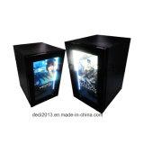 3G 4G WiFi refrigerador transparente pequeno do indicador do LCD de 32 polegadas