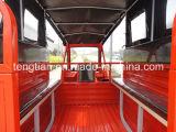 乗客の人力車