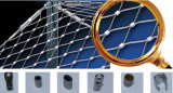 316L Stainless Steel Wire Rope Mesh (ISO 제조자)