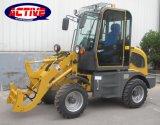 Beste kwaliteit AL908 0.8ton en de hete lader van het verkoop hydraulische miniwiel met fabrieksprijs