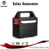 100W het zonneSysteem van de ZonneMacht van de Generator met LEIDEN Licht voor het Laden van Telefoons