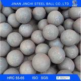esferas de aço de moedura forjadas de 80mm dureza elevada para a mineração
