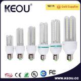 차가운 백색 LED 옥수수 전구 2u/3u/4u 3W/7W/9W/16W/23W/36W