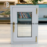 Inclinação branco e gire a janela com alumínio quebra térmica