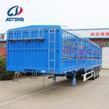 Vervaardiging 3 van China de Semi Aanhangwagens van de Aanhangwagen/van de Omheining van de Lading van de As voor Verkoop
