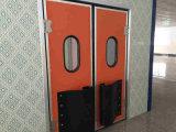 Дверь качания Ss304 с стеклянным окном