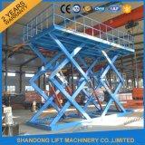 2t 7m de tijera hidráulico de levantamiento mesa elevadora con CE