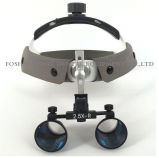 Lâmpada de farol LED dental 3.5X uma lupa binocular Óculos Lupa 420mm