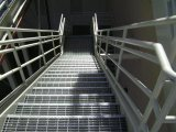 住宅のSteel Stairs Treads GratingかProfessional Grating Manufacturer