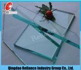 El vidrio de modelo/teñió el vidrio de cristal/reflexivo/el vidrio de flotador claro/el vidrio pintado para el edificio