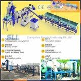 Planta movible 20t/H-80t/H de la mezcla del tratamiento por lotes del asfalto