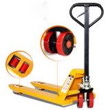 Hydraulischer Handladeplatten-LKW für Gabelstapler des Verkaufs-2500kg 3ton mit automatischem Senden