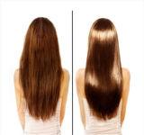 Nettoyeur de cheveu avec de la kératine pour hydrater et lisser le cheveu