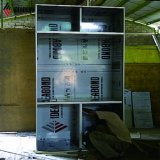 Tamanho padrão Ideabond Brown cobre alumínio metálico do painel da parede exterior