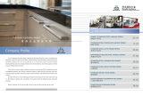 De deur behandelt de Montage van het Meubilair van het Roestvrij staal van de Knop van de Trekkracht van het Kabinet